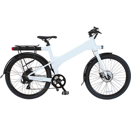Flash v1 Commuter in white color