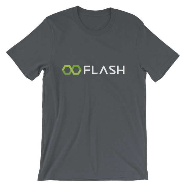 Flash T-shirt in Asphalt