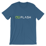 Flash T-shirt in Steel Blue