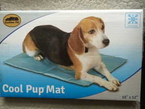Cool Pup Mats provide pets with a cool spot to rest on hot days for Dogs - Small