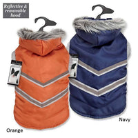 ZACK & ZOEY ELEMENTS Nor'easter Waterproof Warm Arctic Reflective  Dog Coats
