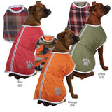Zack & Zoey Noreaster Warm Reversible Waterproof Reflective Blanket Jackets/Coats Dog