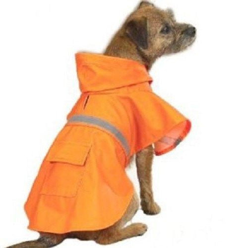 Guardian Gear Reflective Dog Hooded Rain Jackets / Coats