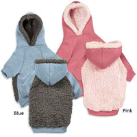 Casual Canine Cozy Warm Fleece Hoodies for Dogs - Dog Sweater / Coat / Jacket