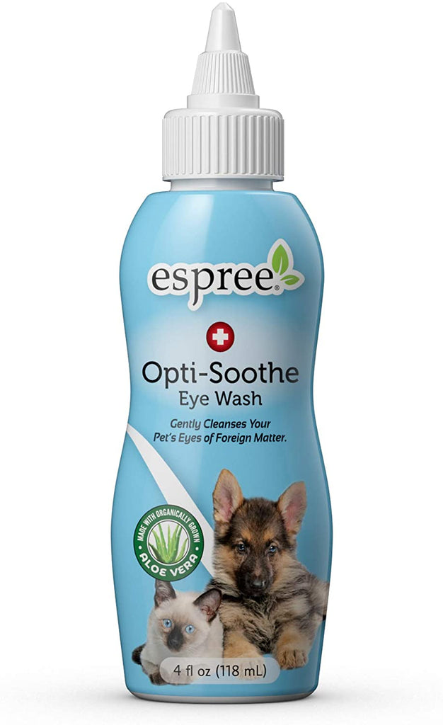 Espree Animal Products Optisooth Eye Wash for Pets - Dogs, Cats, 4 oz