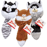 Zanies Funny Furry Fatties Toys for Dogs Squeak, crinkle, squeak, stuff animals