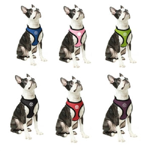 Gooby Soft Mesh Dog Harness in all sizes and colors - Small, Medium, Large