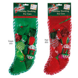 Zanies Holiday Cat Stockings - 12 cat toys in a variety of styles