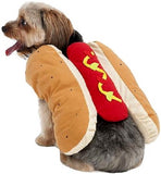 "Halloween Hot Dog Costume for Dogs - Extra Small 8""-10"" long"