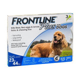 Frontline Plus for Medium Dogs 23-44 lbs. -  3 Pack