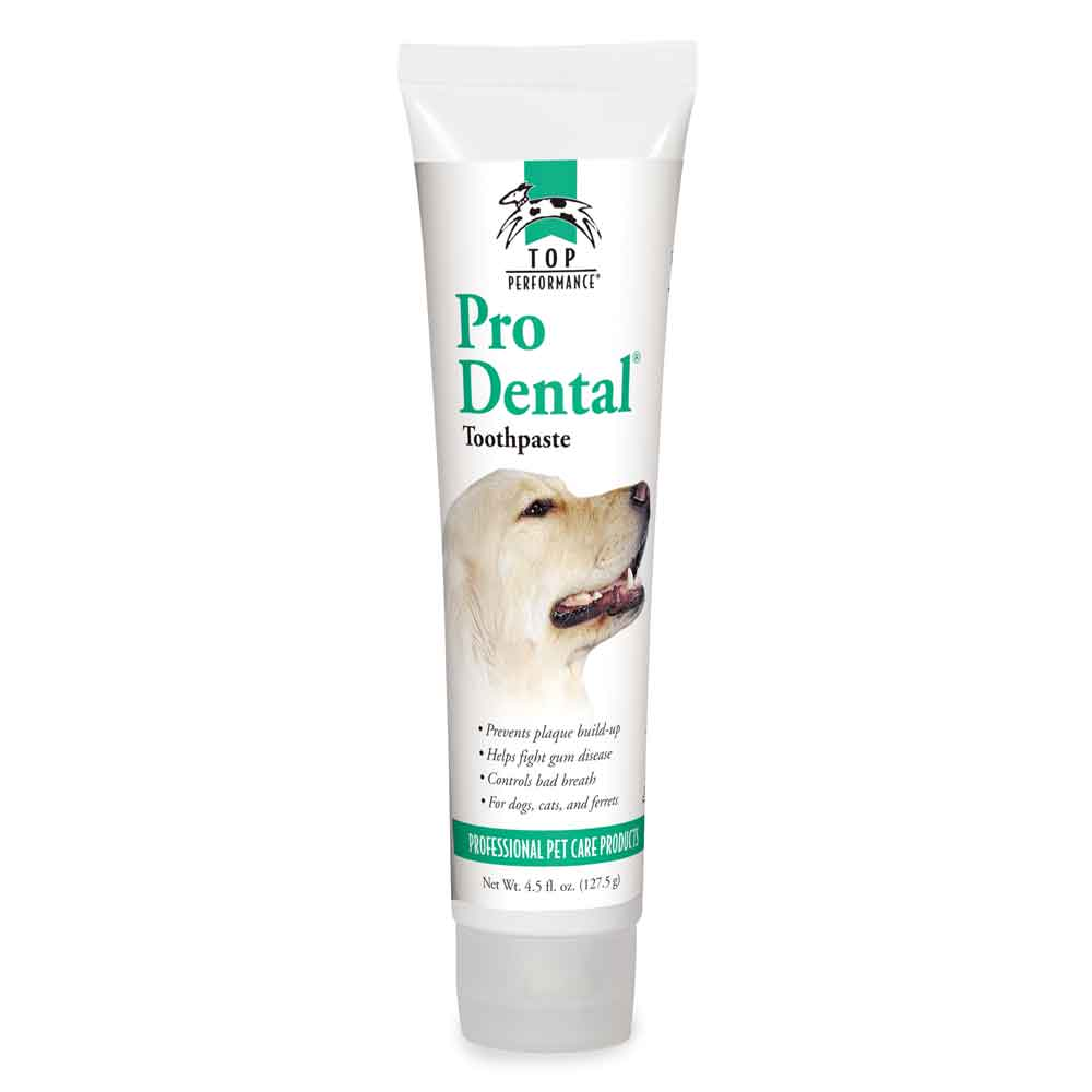 Pro Dental Toothpaste for Dogs, Cats, Ferrets 4.5 fl. oz. - helps plaque, breath