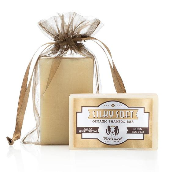 Natural Dog Company Shea Butter Silky Soft Organic Shampoo Bar 4 oz.