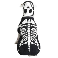 Casual Canine Glow Bones Skeleton Costume for Dogs - Dog Costumes / Dog coats