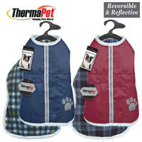 Zack & Zoey ThermaPet NorEaster Coats for Dogs - Waterproof, Warm Jacket, Winter
