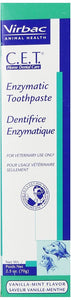 C.E.T. Enzymatic Dental Toothpaste for Dogs and Cats,Vanilla-Mint Flavor, 2.5 oz