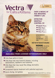 Vectra For Small Cats 2-9 lbs.  6 Doses Flea Tick Control - EPA/USA Approved