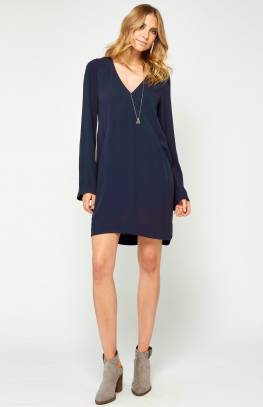 Summer Nights Navy Dress