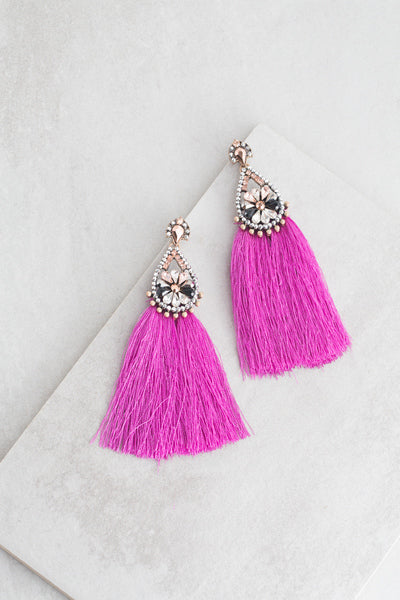 Heiress Tassel Earrings