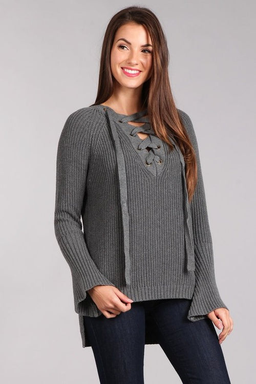 Britton Tie Sweater
