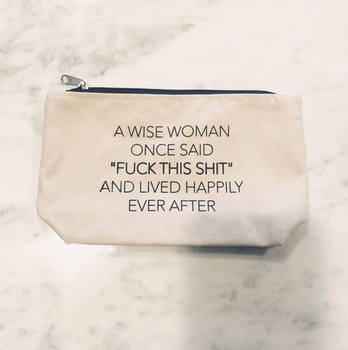 A Wise Woman Pouch