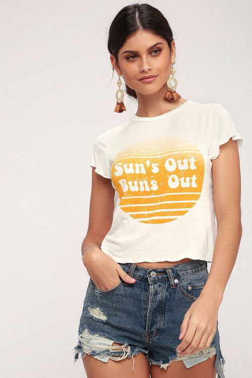 Suns Out Buns Out Tee