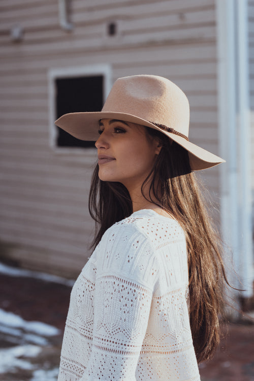 Lana Tan Floppy Brim Hat