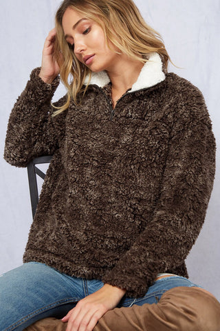 Delaney Terracotta Sweater