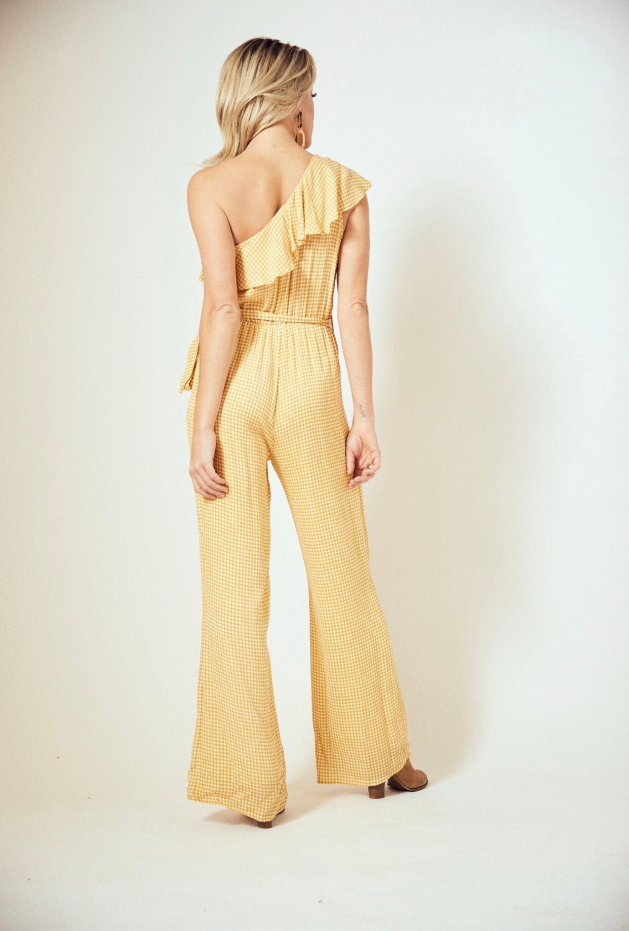 Bellissimo One Shoulder Jumpsuit