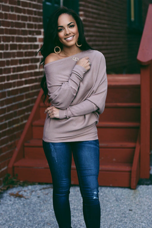 The Corey Asymmetric Sweater