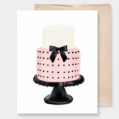 Tiered Cake Card