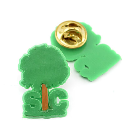 South Carolina Palmetto Plastic Lapel Pin - ADI00115