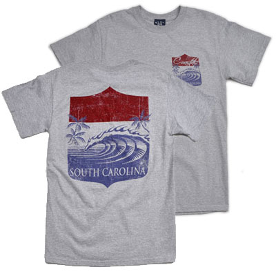 Water Shield Costal South Carolina T-Shirt - ADI00838