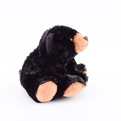"8"" Stuffed Animal Black Bear - ADI00906"