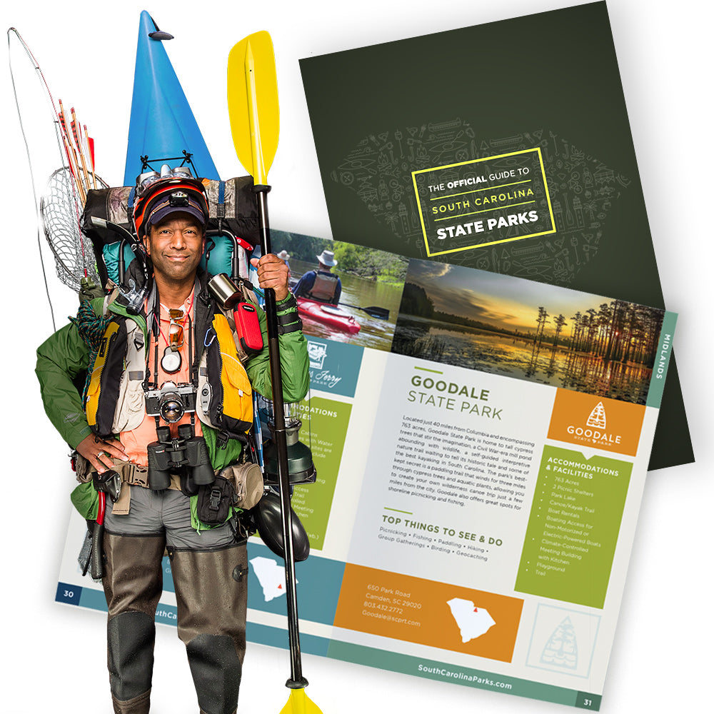 Official Guide to South Carolina State Parks - ADI00979