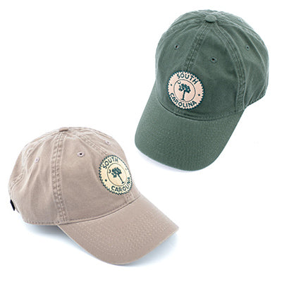 South Carolina Round Patch Hat - ADI01107