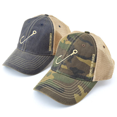 Hamilton Branch Fishing Hook Mesh Trucker Hat - ADI01109