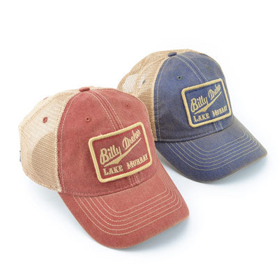 Billy Dreher Square Patch Mesh Trucker Hat - ADI01144