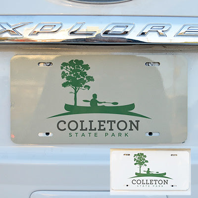 license plate colleton plate - ADI01150