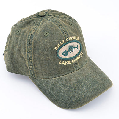 Bill Dreher Bone Fish Lake Murray Hat - ADI01184