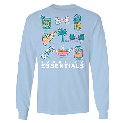 Carolina Essentials Long Sleeve T-Shirt - ADI01213