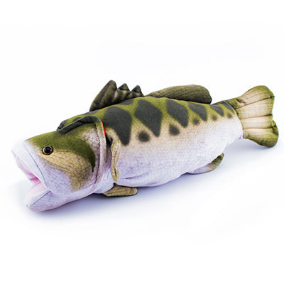 "12"" Stuffed Animal Large Mouth Bass - ADI01265"