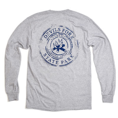 Devils Fork Lake Jocassee Long Sleeve T-Shirt - ADI01350