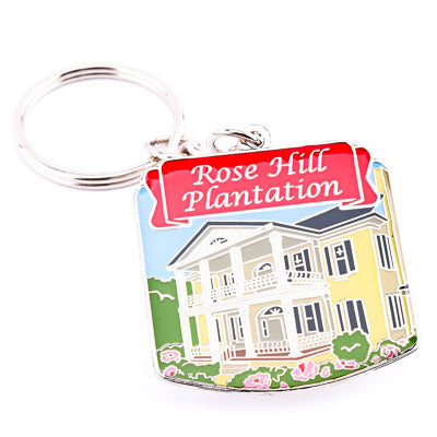 Rose Hill Plantation Metal Key Chian - ADI01351
