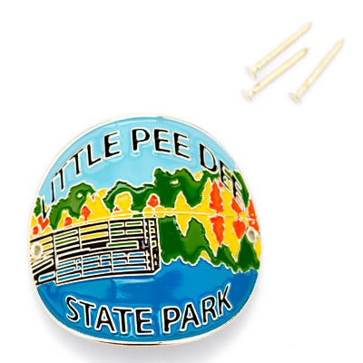 Little Pee Dee State Park Hiking Medallion - ADI01467