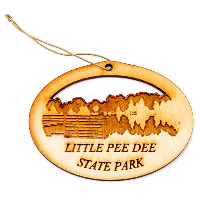 Little Pee Dee Wood Ornament - ADI01468