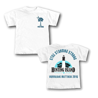 Hunting Island Hurricane Matthew 2016 Youth T-Shirt - ADI01474