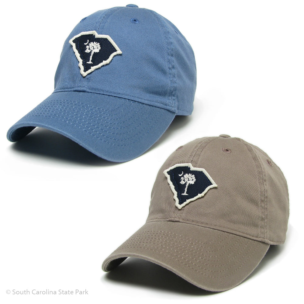 05cdaa518ed10 South Carolina Palmetto and Moon Shape of State Hat - ADI01475 ...