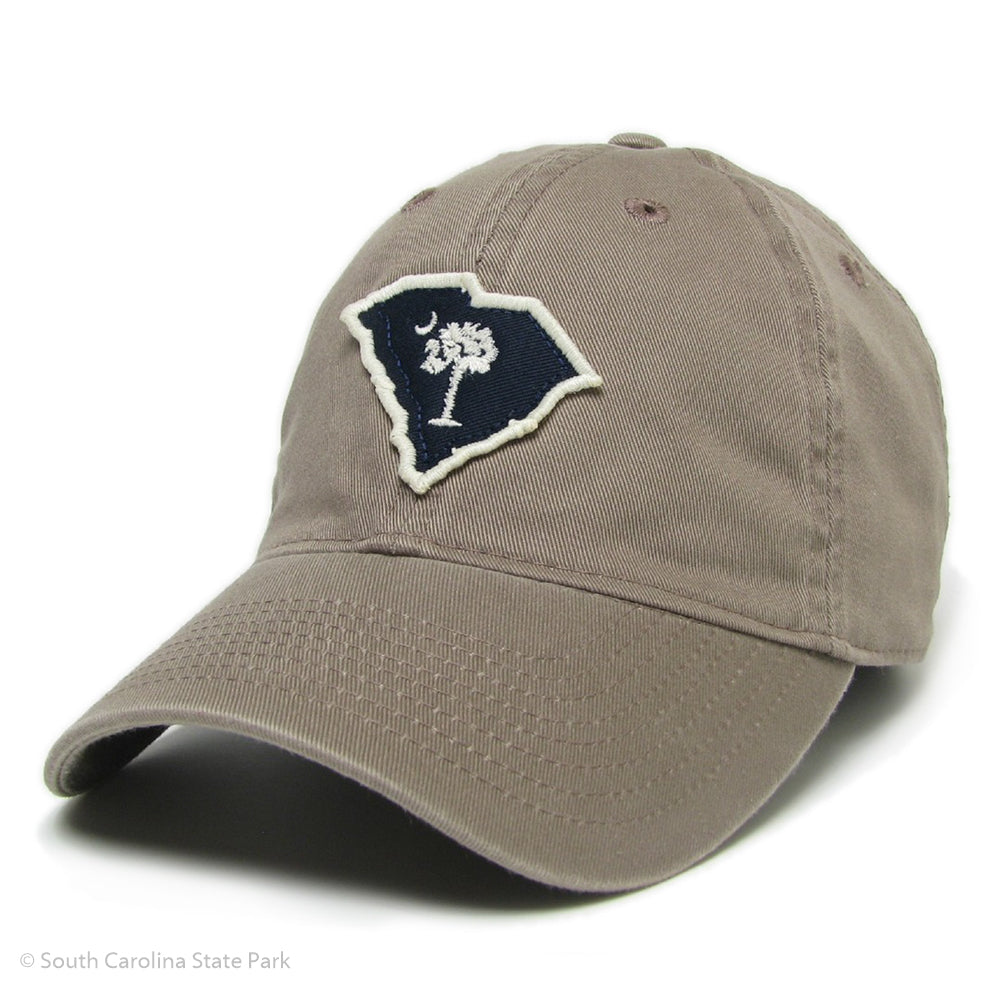 South Carolina Palmetto and Moon Shape of State Hat - ADI01475