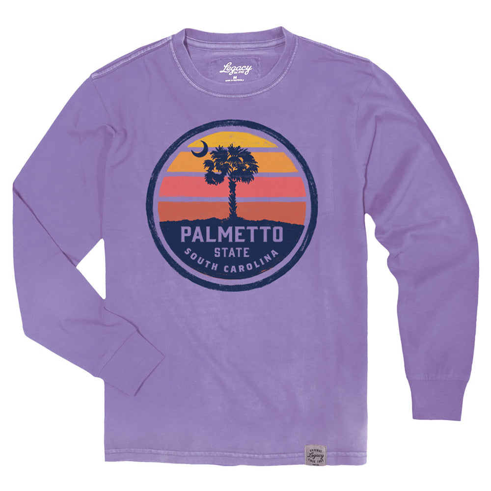 Palmetto Collection Vintage Pocket T-Shirt - ADI01544