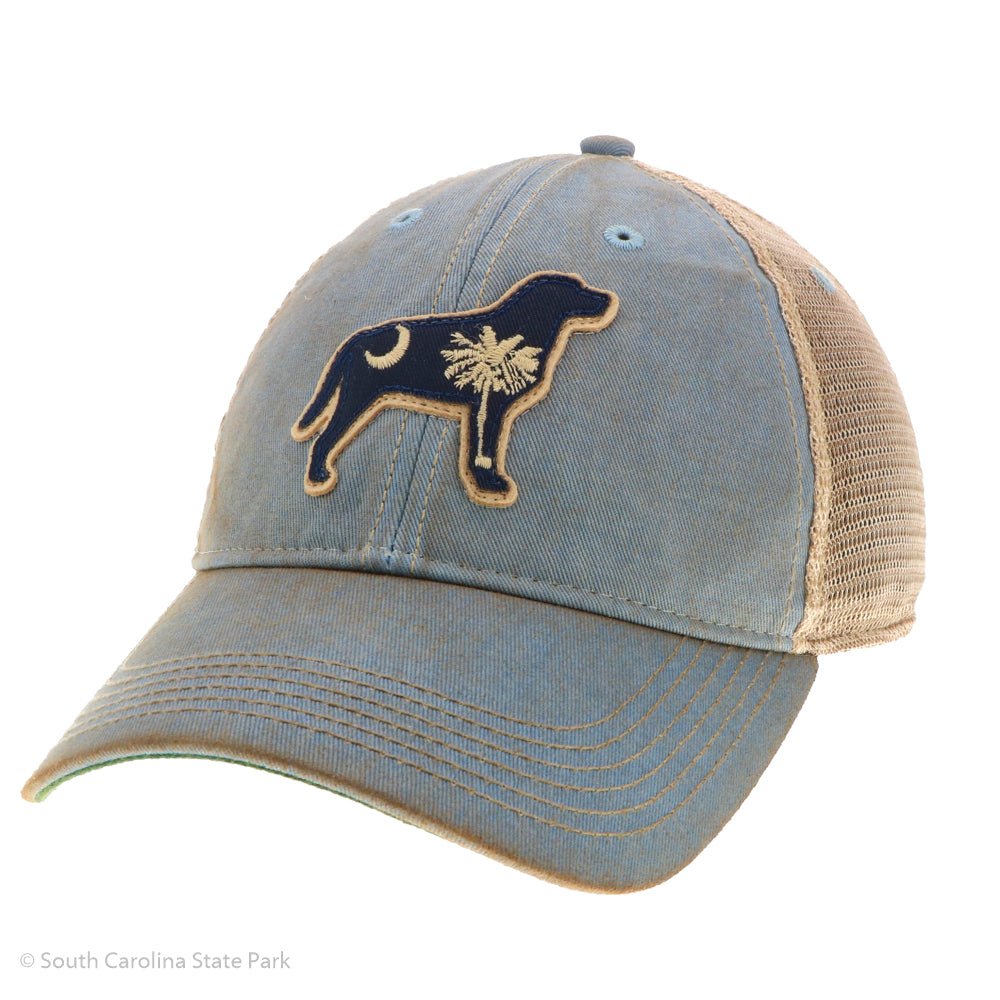 South Carolina Palmetto and Moon Lab Hat